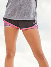 RBX Striated Layered-Look Running Shorts