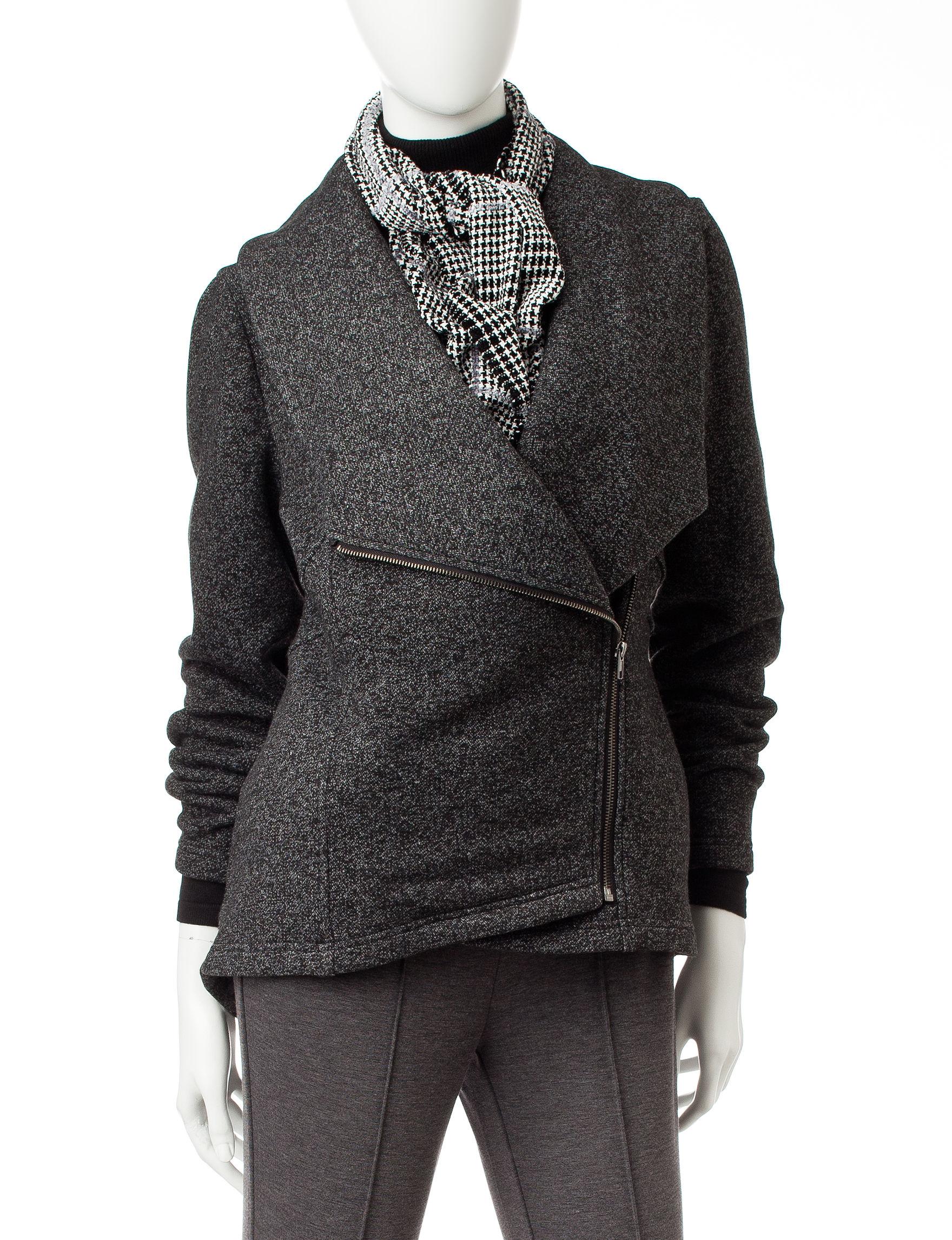 Signature Studio Black Peacoats & Overcoats