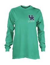 University of Kentucky Chevron Heptagon Top