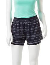 RBX Stripe Print Woven Bike Shorts