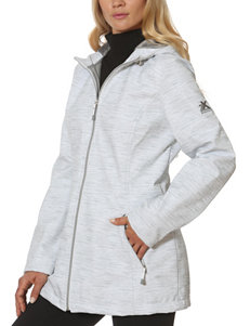 Zero Xposur White Puffer & Quilted Jackets