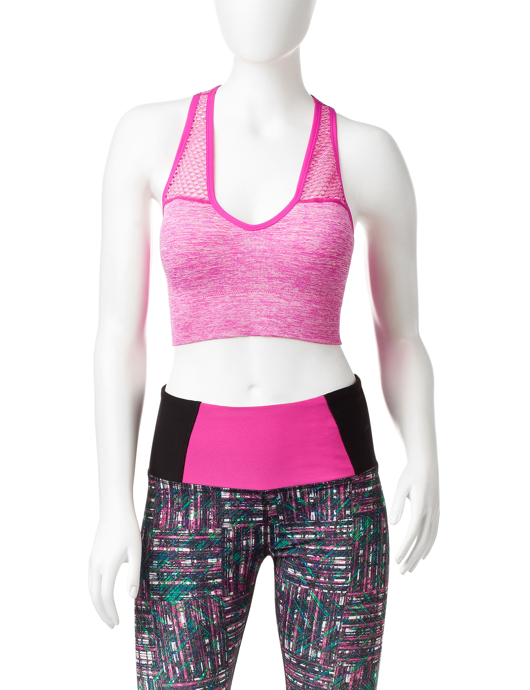 H2 Hannah Performance Pink Camisoles & Tanks