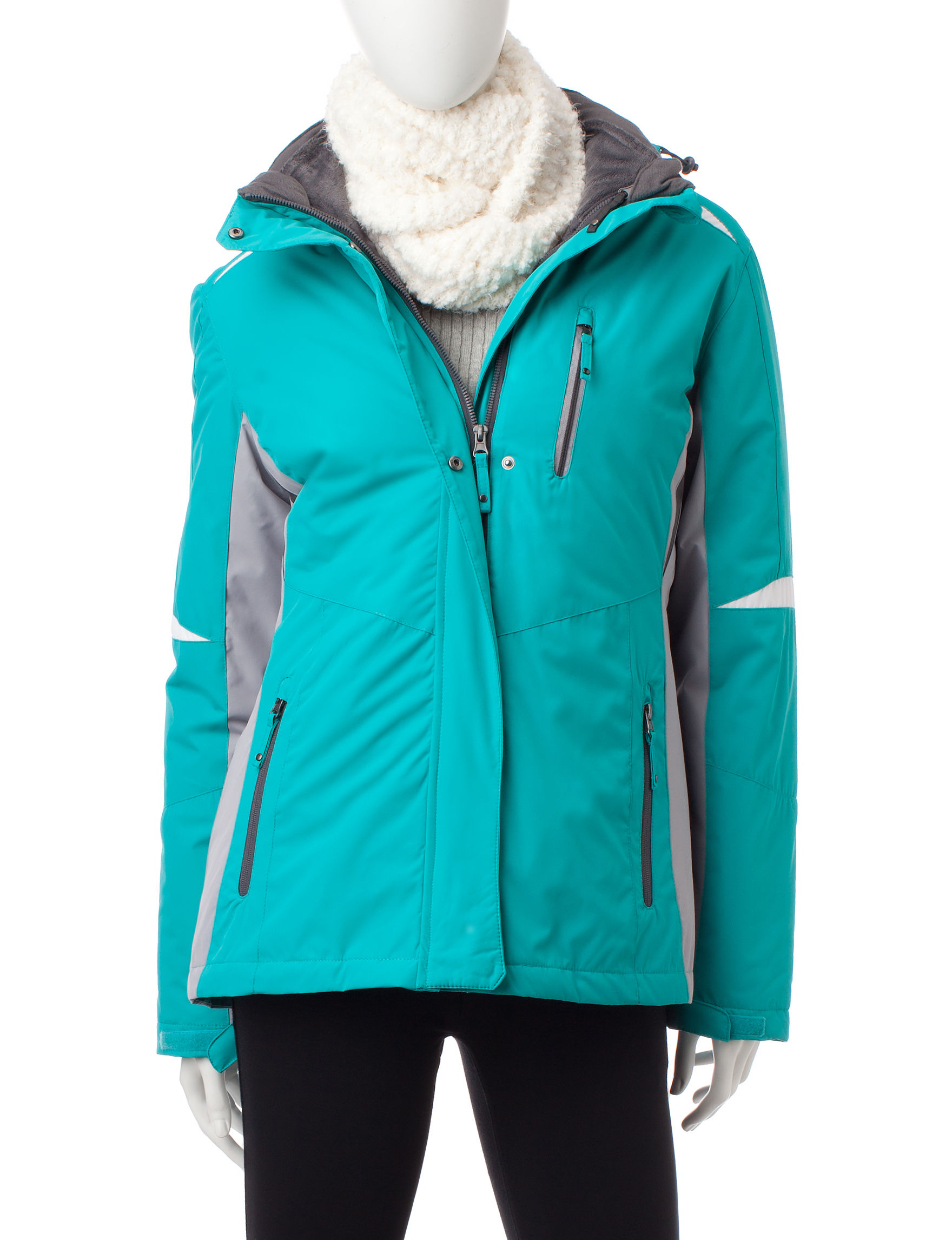 Mackintosh Mint Puffer & Quilted Jackets