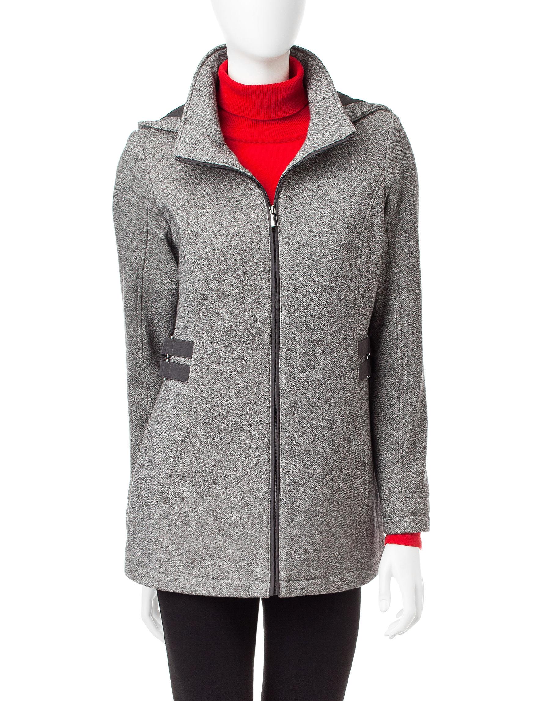 Details Grey Peacoats & Overcoats
