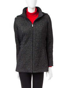 Details Black / White Peacoats & Overcoats