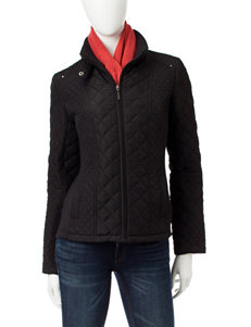 Weatherproof Black Puffer & Quilted Jackets