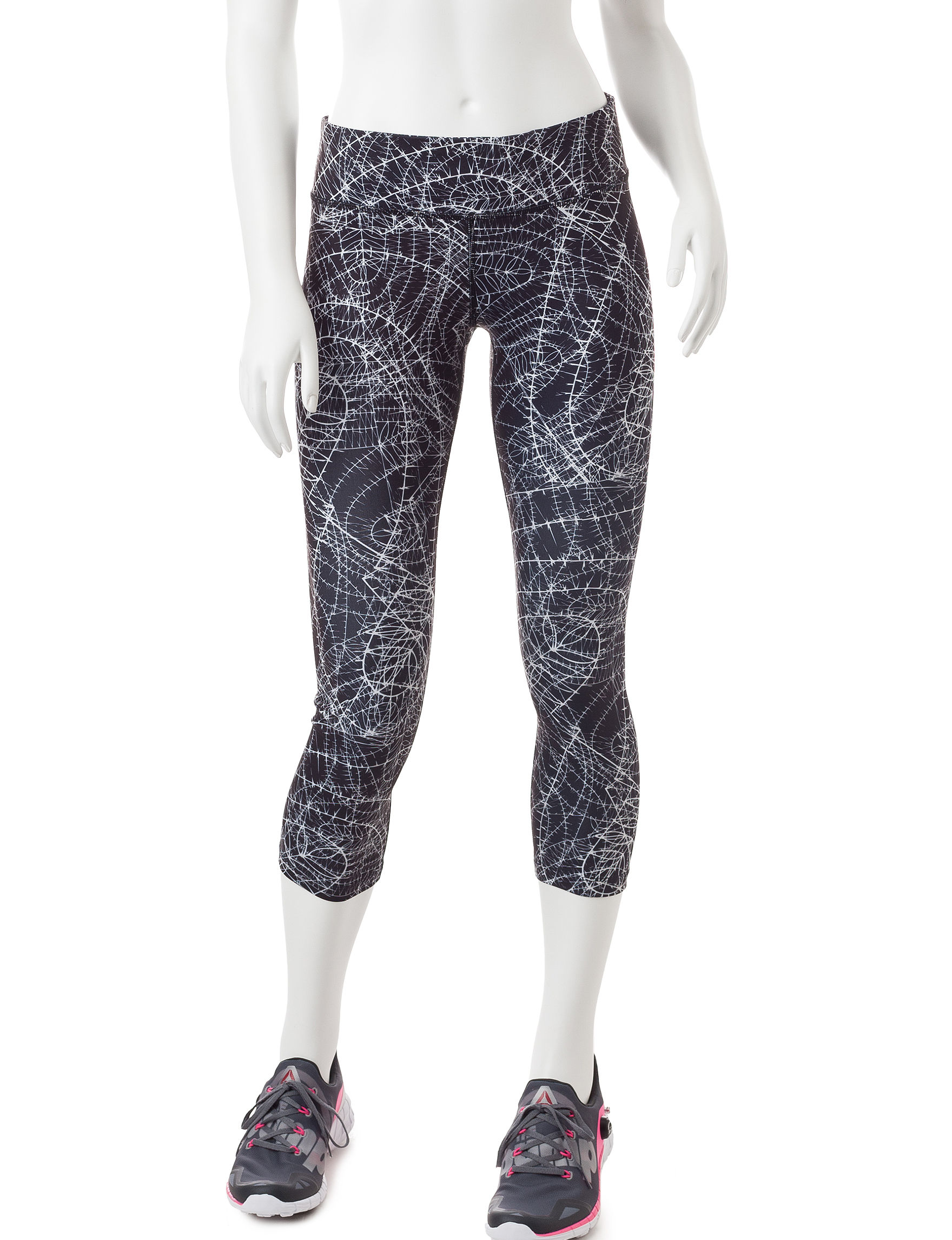 Steve Madden Black / White Leggings