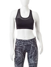 Steve Madden Come Hither Mesh Sports Bra