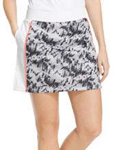 Izod Abstract Print Panel Pleat Skort