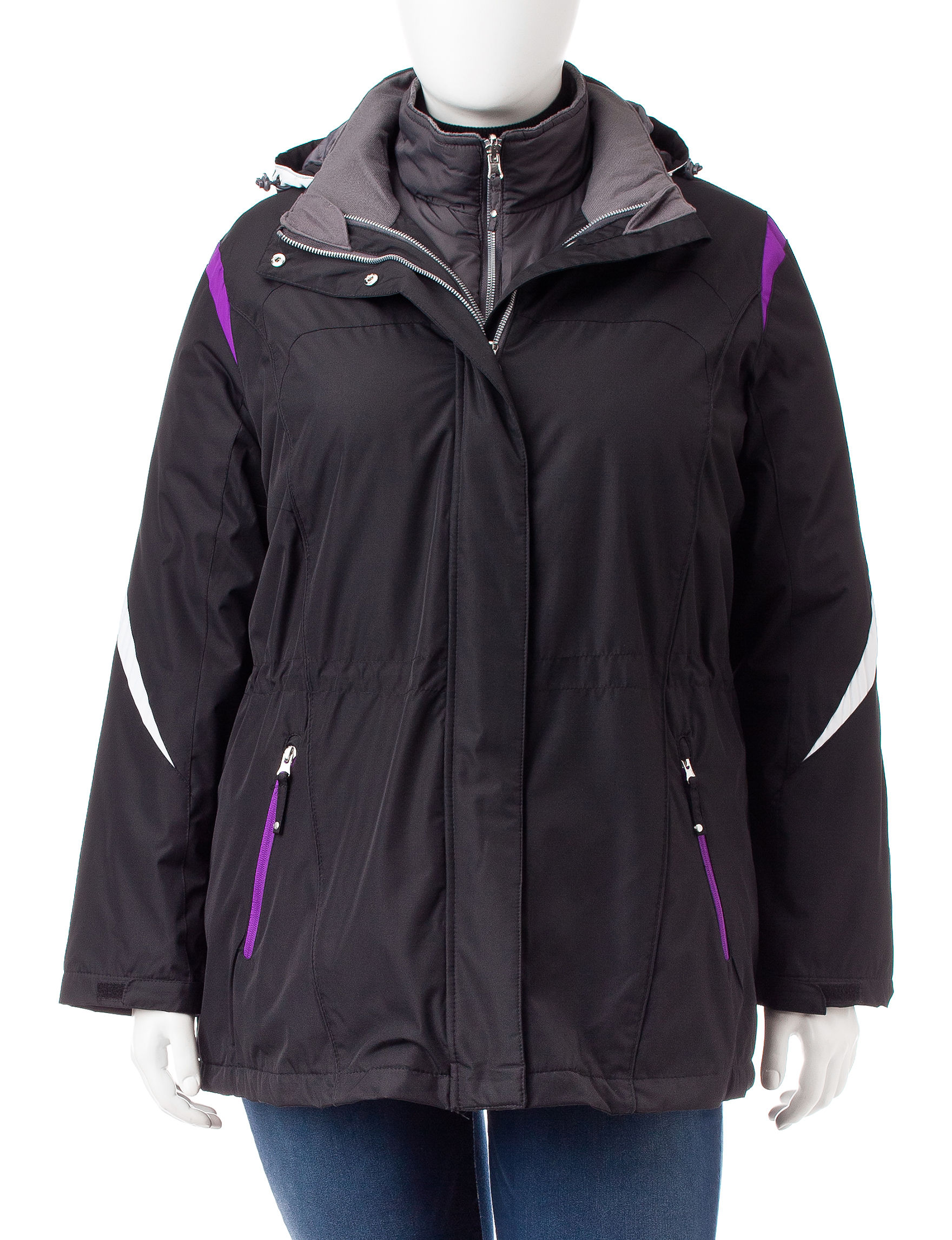 Mackintosh Black Puffer & Quilted Jackets