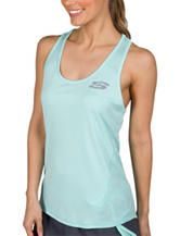 Skechers® Play Tonal Chevron Racerback Tank Top