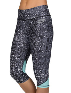 Skechers® Snake Print Judo Active Capri Pants
