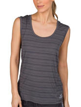 Skechers® Tissue Stripe Print Tank Top