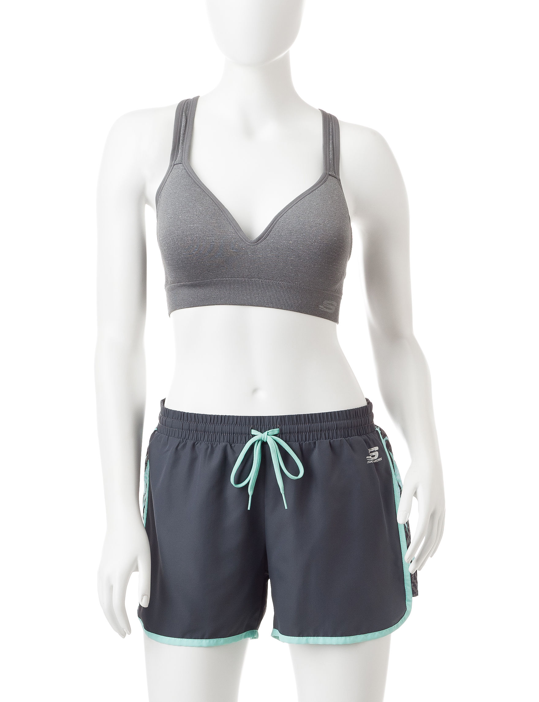 Skechers Grey Sports Bra