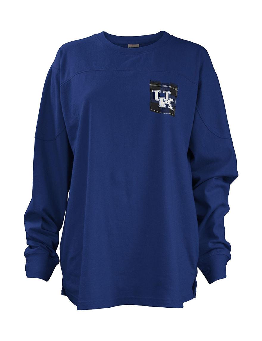NCAA Royal Blue Pull-overs Tees & Tanks NCAA
