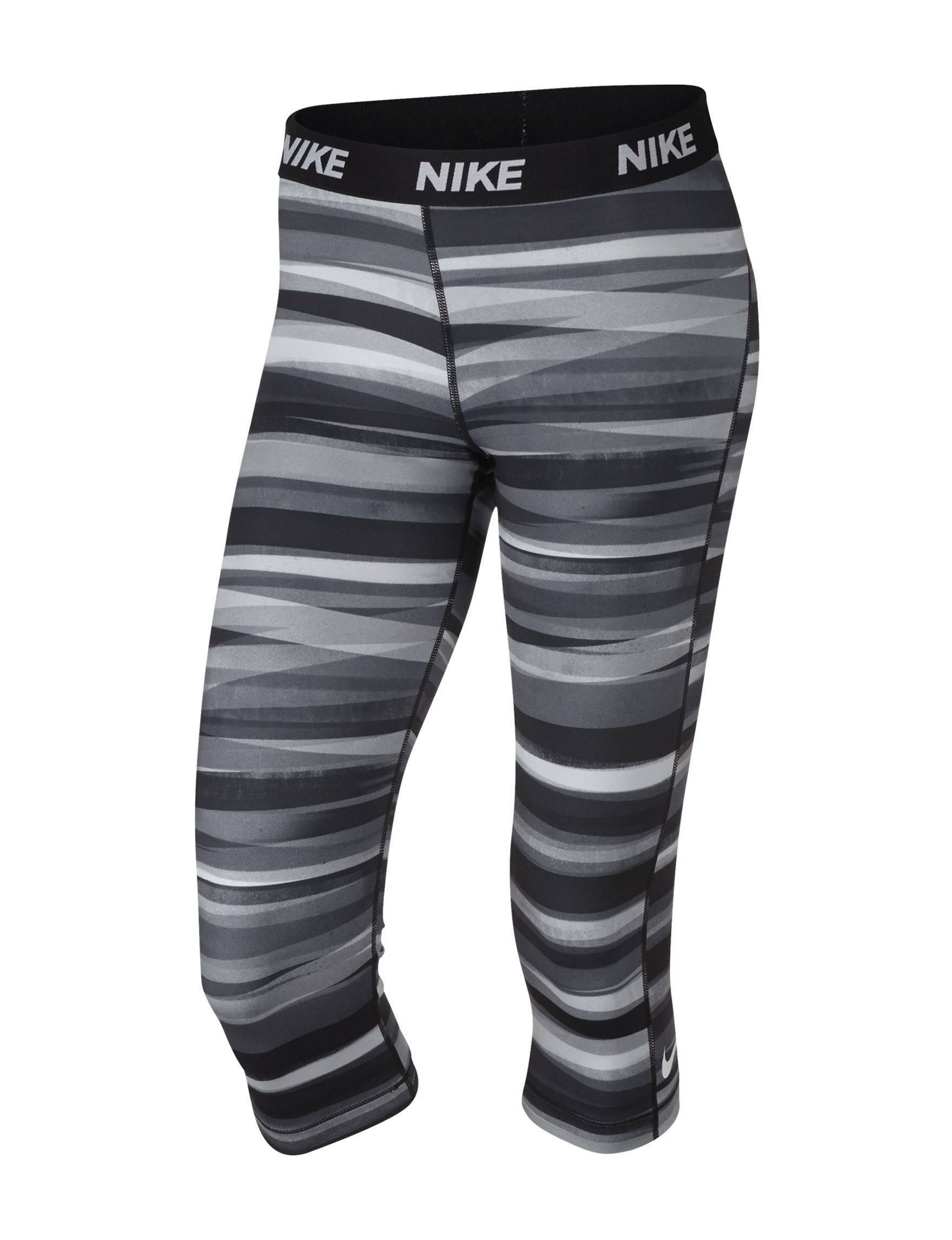 Nike Grey / Black / White Leggings