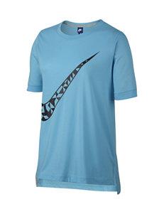 Nike Blue Combo Tees & Tanks