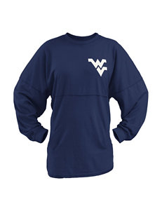 West Virginia University Scotch Plaid Sweeper Top