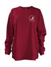 University of Alabama Seersucker Monogram Top