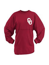 University of Oklahoma Scotch Plaid Sweeper Top