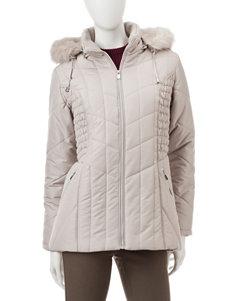Valerie Stevens Quilted Puffer Jacket