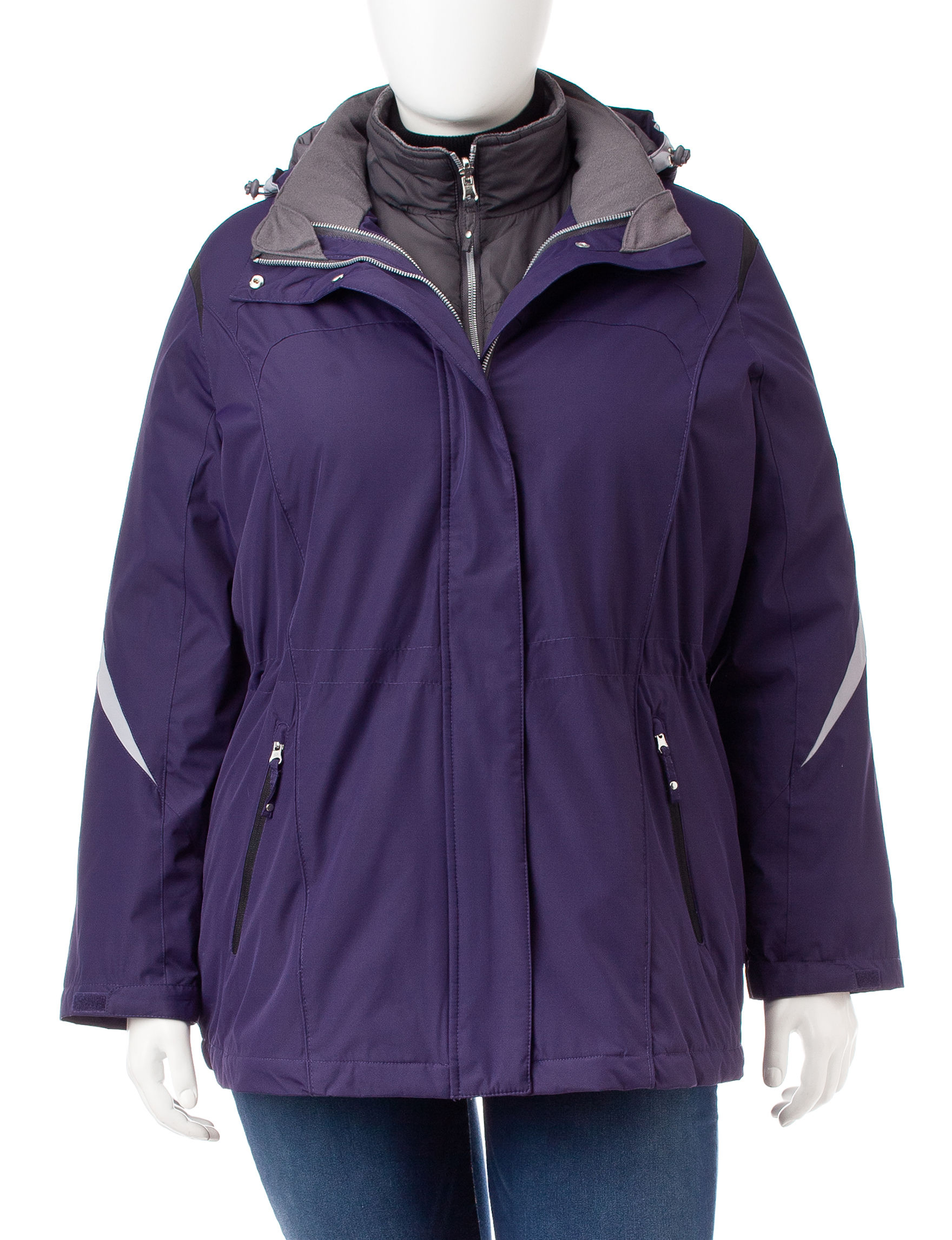 Mackintosh Purple Puffer & Quilted Jackets