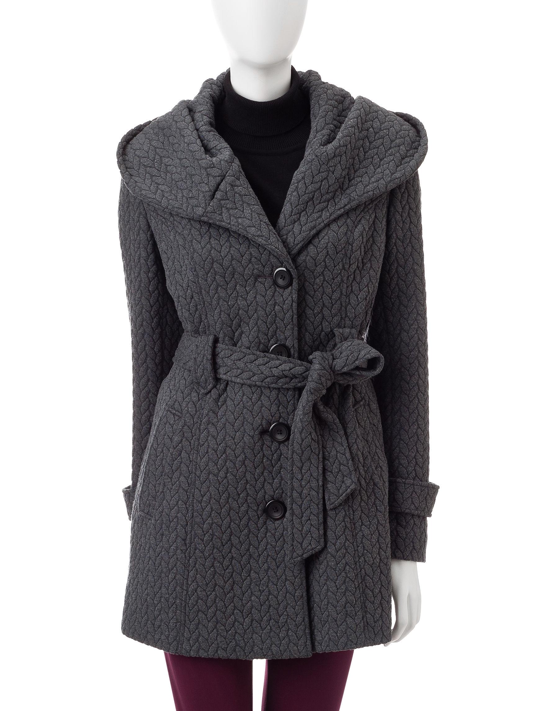 Gallery Charcoal Peacoats & Overcoats