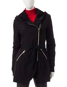 Jessica Simpson Black Peacoats & Overcoats