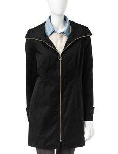 Anne Klein Black Puffer & Quilted Jackets