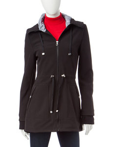 Jessica Simpson Black Puffer & Quilted Jackets