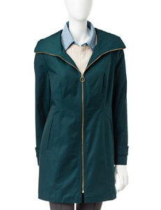 Anne Klein Teal Puffer & Quilted Jackets