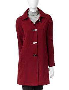 London Fog Red Rain & Snow Jackets