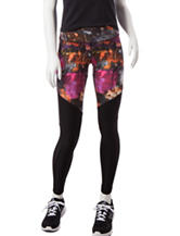 Steve Madden Multicolor Abstract Print Leggings