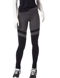 Steve Madden Grey & Black Color Block Leggings
