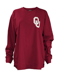 NCAA Red Pull-overs Shirts & Blouses Tees & Tanks NCAA