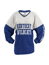 University of Kentucky Color Block Hooded Top