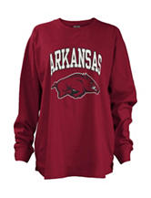 Arkansas Razorbacks Old West Top
