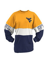 West Virginia University Clarity Sweeper Top