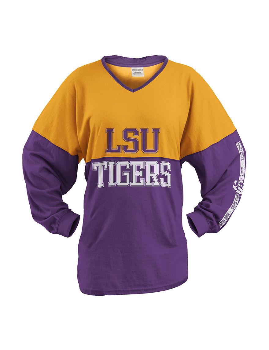NCAA White / Purple Tees & Tanks NCAA