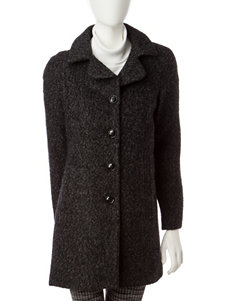 Anne Klein Dark Grey Peacoats & Overcoats