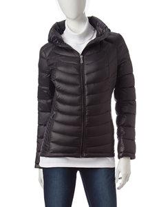 Calvin Klein Black Puffer & Quilted Jackets