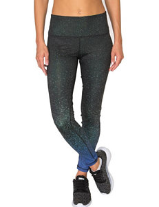 RBX Multicolor Abstract Print Leggings