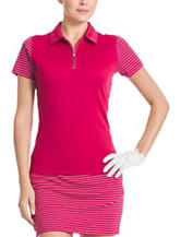 Izod Pink Polo Top