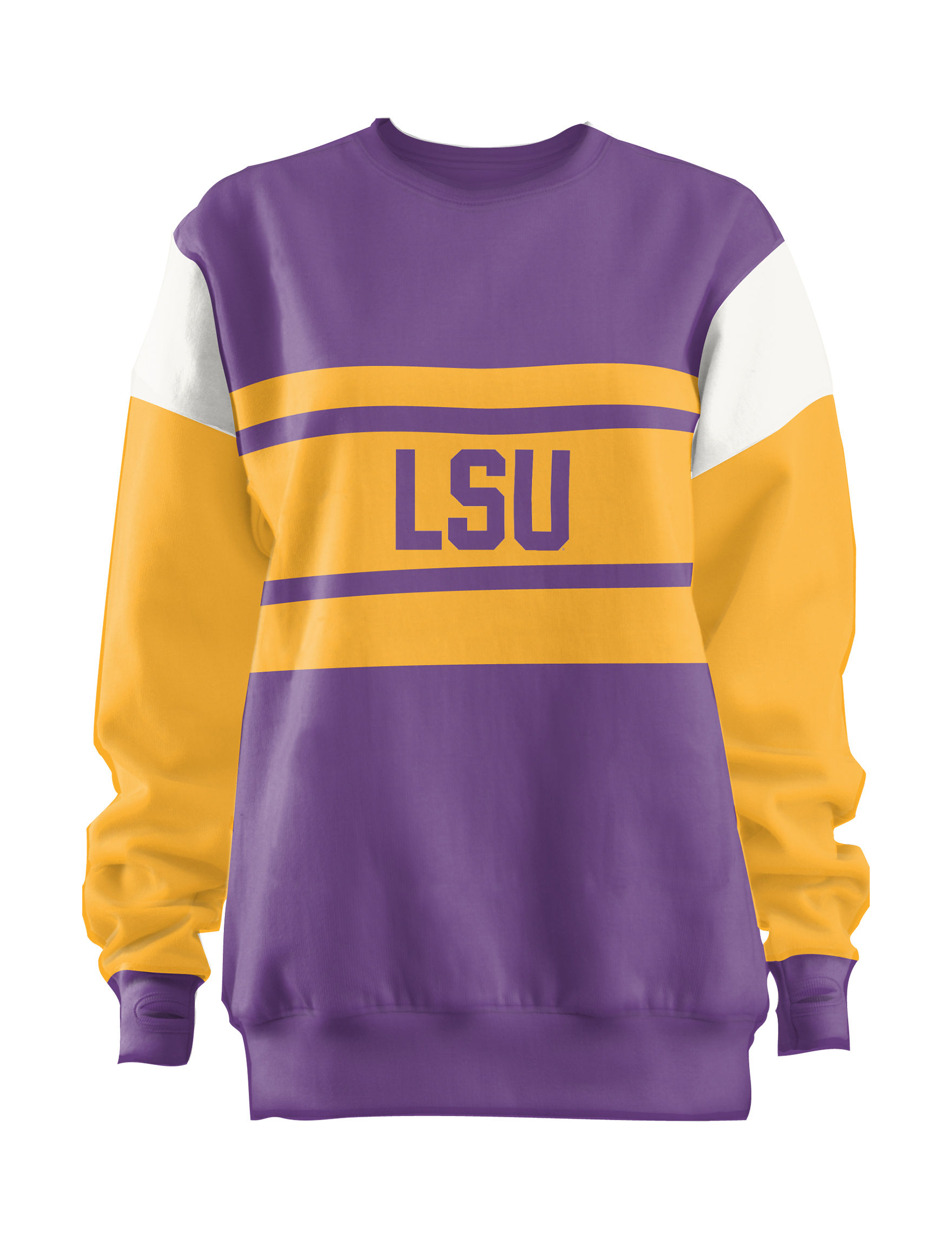 NCAA Purple / Gold Pull-overs Shirts & Blouses Tees & Tanks NCAA