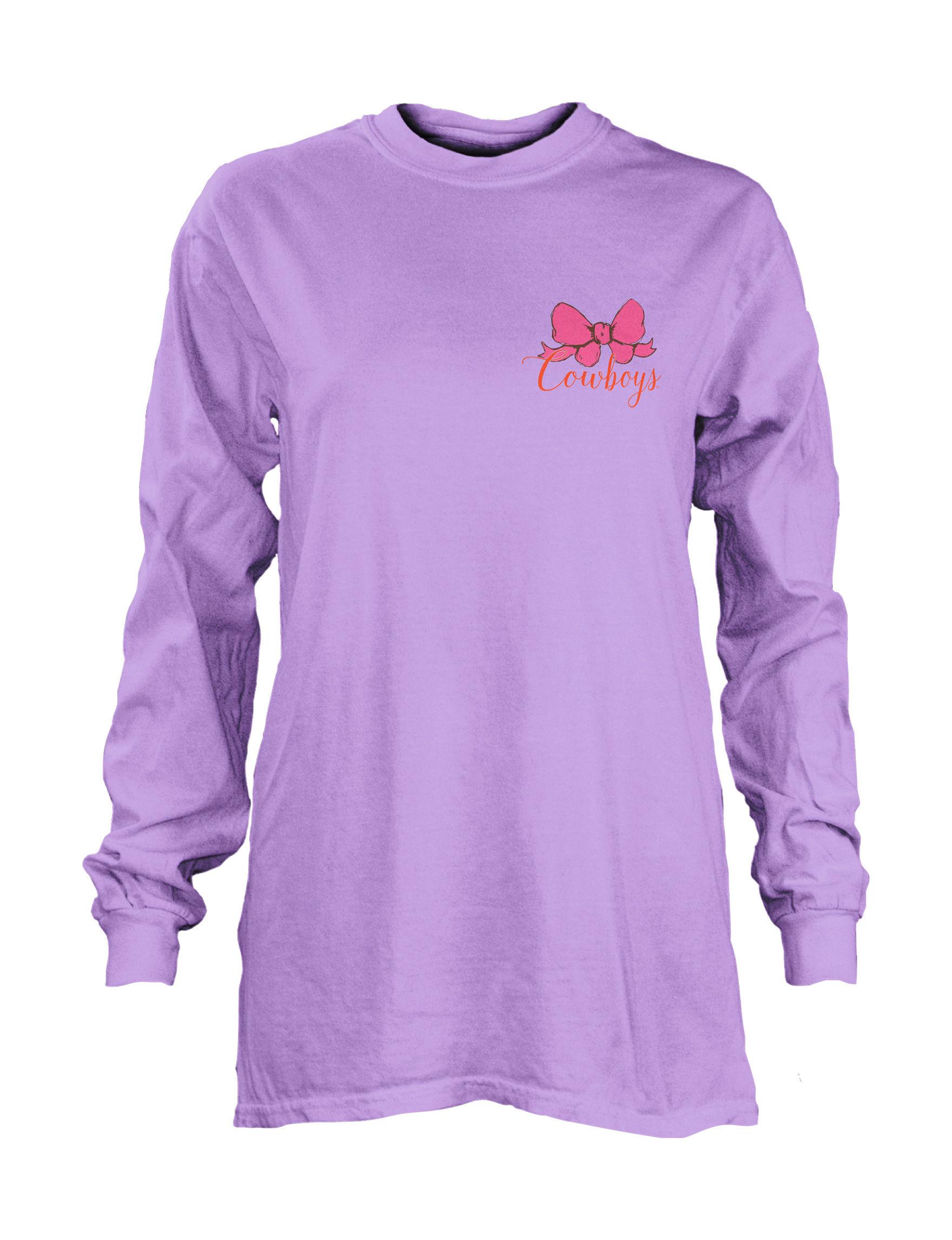NCAA Light Purple Pull-overs Shirts & Blouses Tees & Tanks NCAA