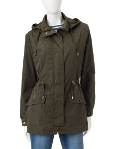 Mackintosh Olive Lightweight Jackets & Blazers Rain & Snow Jackets