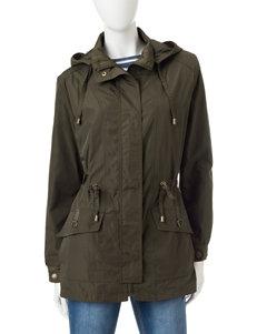 Mackintosh Olive Lightweight Jackets & Blazers Rain & Snow Jackets