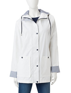 Mackintosh White Lightweight Jackets & Blazers Rain & Snow Jackets