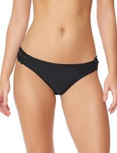 Jessica Simpson Black Swimsuit Bottoms Hipster