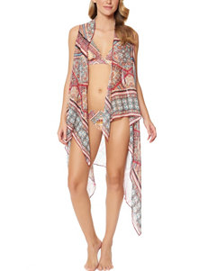 Jessica Simpson Day Tripper Chiffon Cover Up